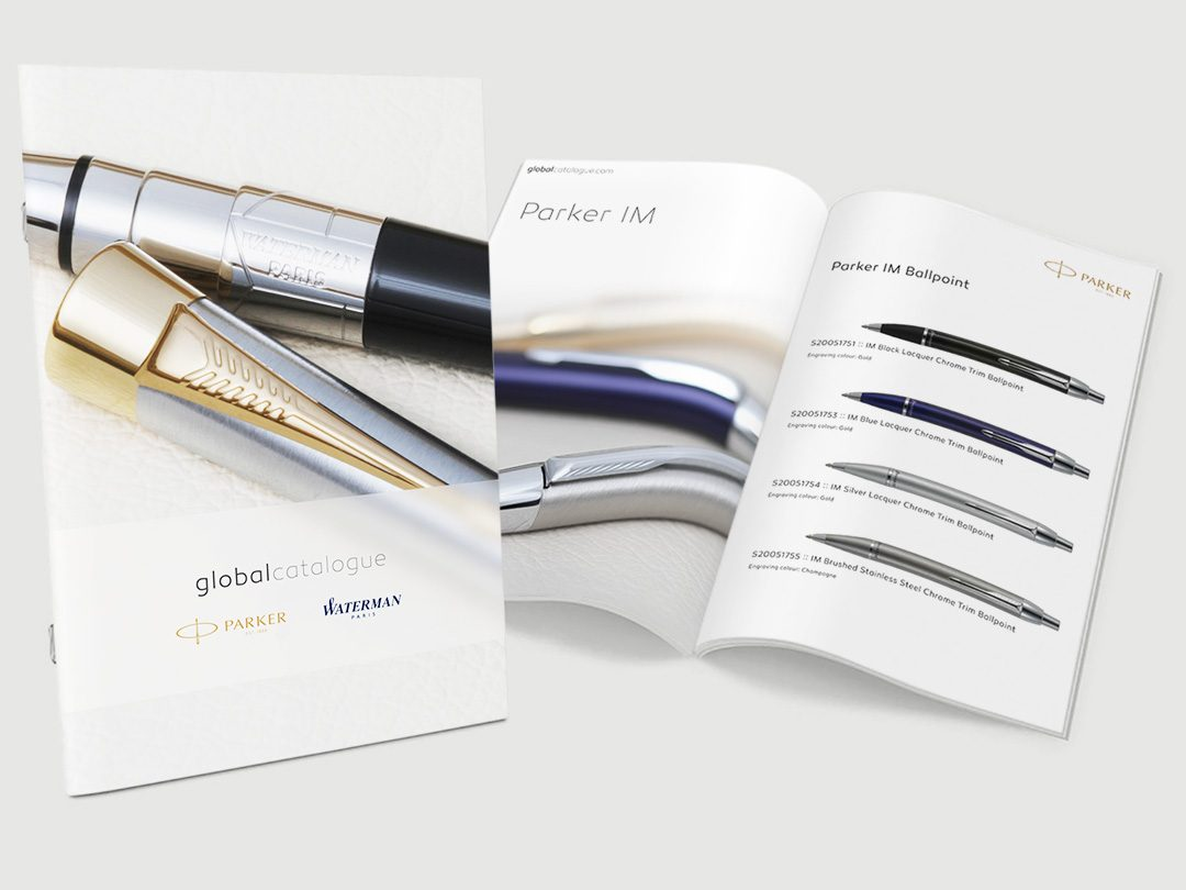 Catalogue Design | Product Photography | Parker Waterman
