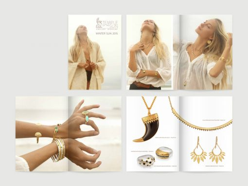 Catalogue Design | Jewelry Photography | for Temple of the Sun Byron Bay